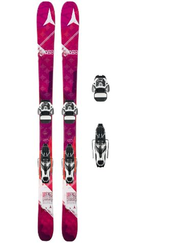 Atomic Vantage 85 W 165 + Warden 11 2017 Freeski set