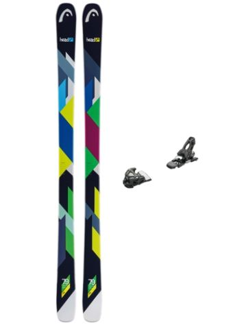 Head The Show 154 + AAAtack 11 90mm 2017 Freeski-Set