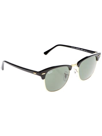 Ray Ban Clubmaster Ebony/Arista Iconic Sonnenbrille