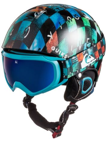 Quiksilver Game Pack Helmet and Goggles Boys