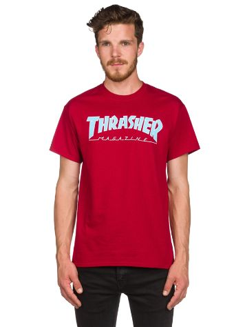 Thrasher Outlined Camiseta