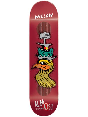 "Almost Bird Shits Impact Plus 8.375"" Willow Deck"