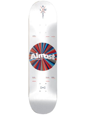 "Almost Noble Color Wheel R7 8.125"" Deck"