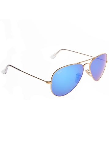 Ray Ban Aviator Large Metal Matte Gold Sonnenbrille