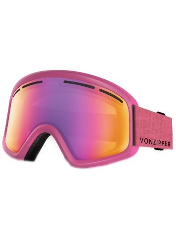 VonZipper Trike Mono Pink Youth Goggle