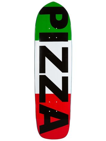 "Pizza Skateboards Punk Point Flag Basic 8.6"" Deck"