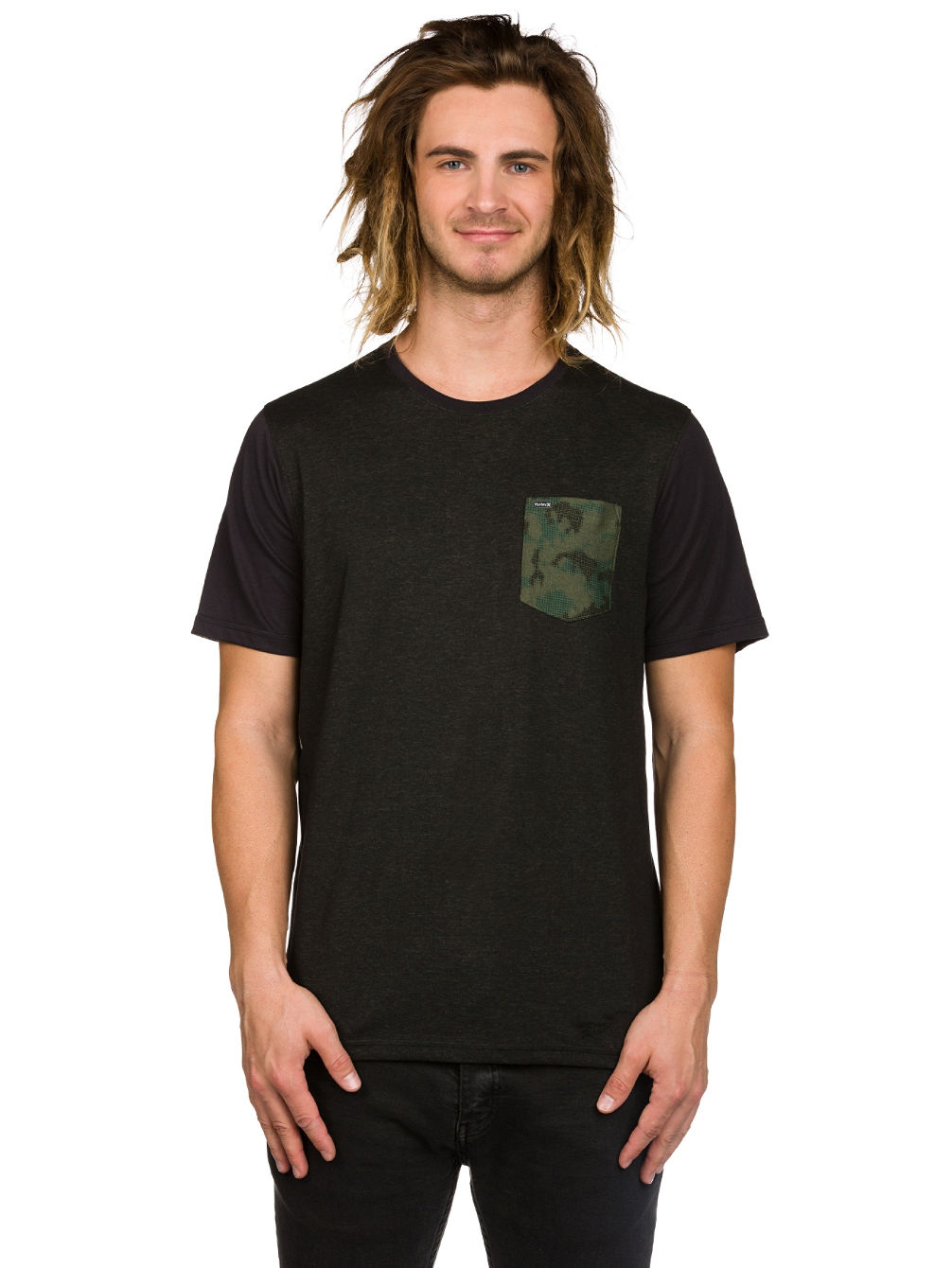 Buy hurley dri fit lagos pocket crew t shirt online at for Buy dri fit shirts