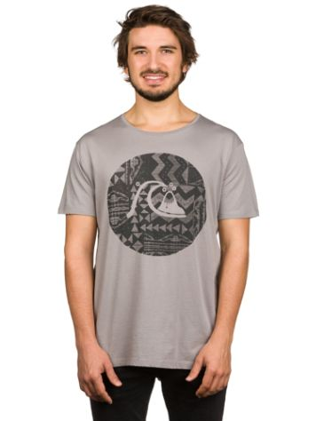 Quiksilver Garment Dye Circle Bubble T-Shirt