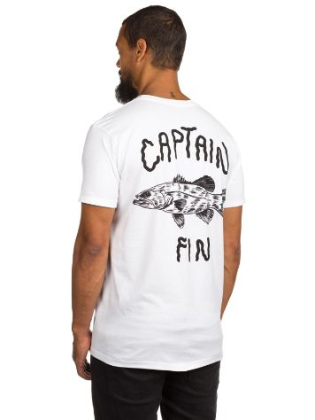 Captain Fin Water World Premium Pocket Camiseta