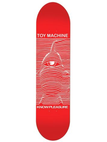 "Toy Machine Toy Division Red 8.25"" Skateboard Deck"