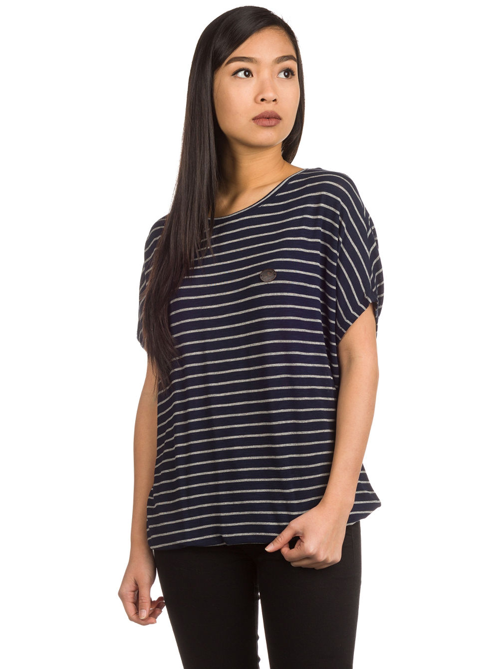 buy naketano striped girl iii t shirt online at blue. Black Bedroom Furniture Sets. Home Design Ideas