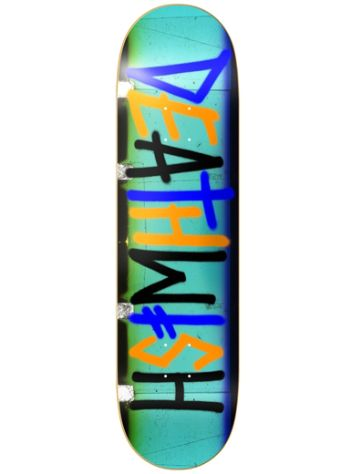 "Deathwish Deathspray Multi Strip 7.75"" Skateboard"