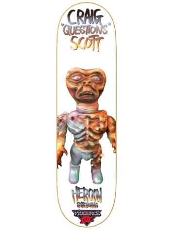 "Heroin Skateboards olence Toy 8.44"" Skateboard Deck"