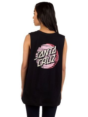 Santa Cruz Drift Dot Muscle Tank Top