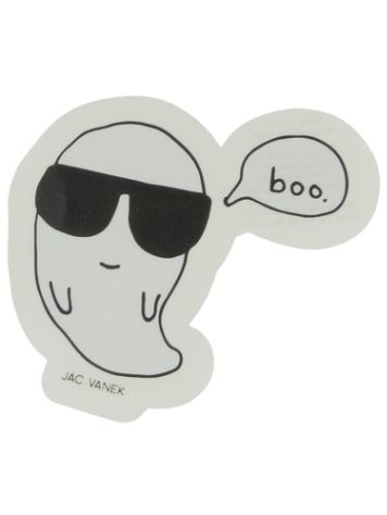 Jac Vanek Cool Boo Sticker