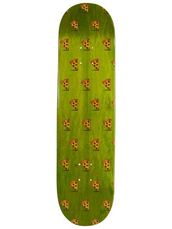 "Pizza Skateboards Emoji Pattern 8.0"" Deck"