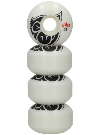Pig Wheels Pig Head Natural 101A 51mm Wielen