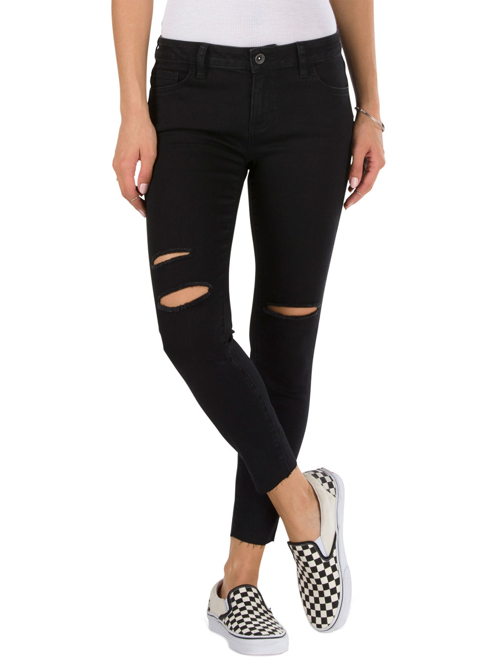 Buy Vans Destructed Skinny Jeans online at blue-tomato.com