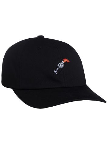 HUF Cocktail Hour Curved Visor 6 Panel Cap