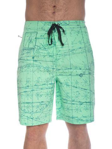 Hurley Phantom JJF Maps Heather Boardshorts