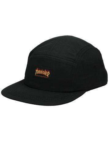 Thrasher Flame Logo 5 Panel Cap