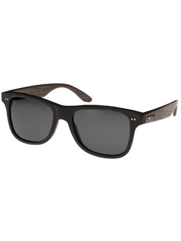WOOD FELLAS Lehel Black Grey Sonnenbrille