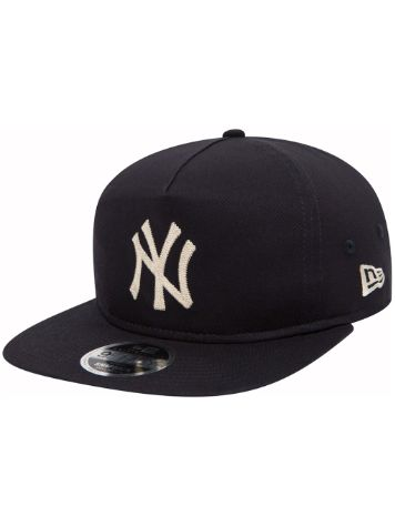 New Era Chain Stitch Snapback Cap