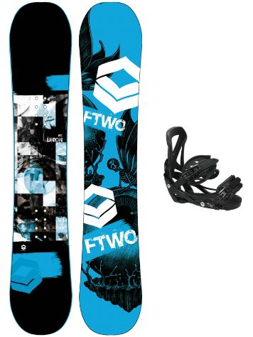 FTWO Union Blue 162W + Sonic SMO M 2017 Snowboard Set