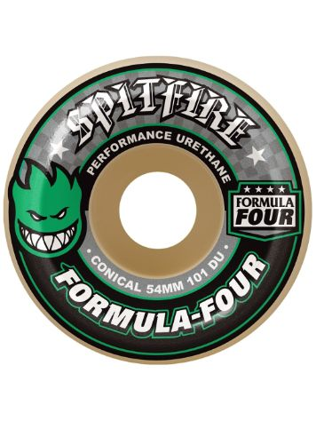 Spitfire Formula Four 101D Conical II 54mm Wheels