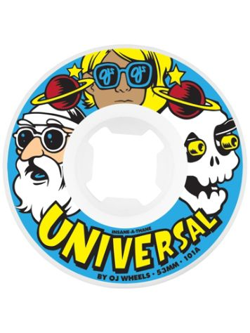 OJ Wheels Universal Insaneathane 101A 51mm Wheels