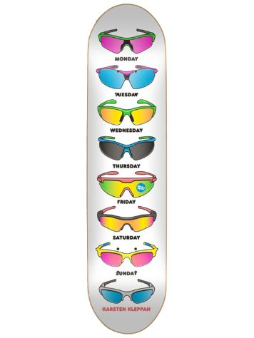 "Skate Mental Kleppan Sunglasses 8.06"" Skateboard Deck"
