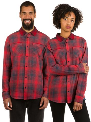 RVCA Neutral Plaid Shirt LS