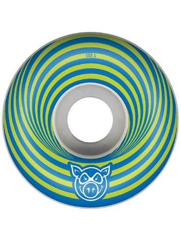 Pig Wheels Vertigo Blue 55mm Wielen