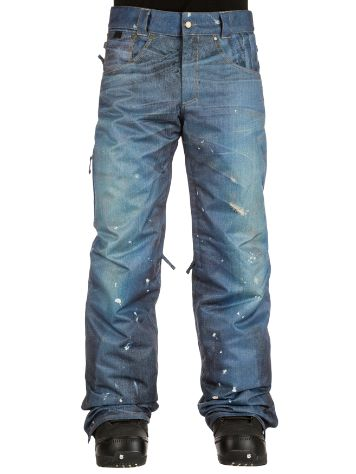 686 Deconstructd Denim Insulated Broeken