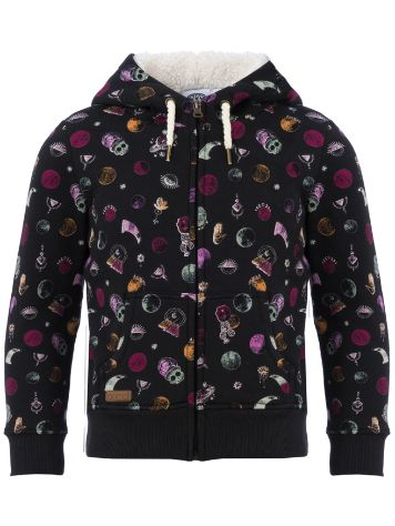 Animal Mystic Dot Zip Hoodie Girls