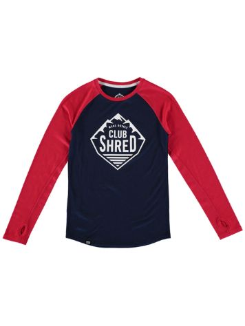 Mons Royale Merino Tech Tee LS Girls