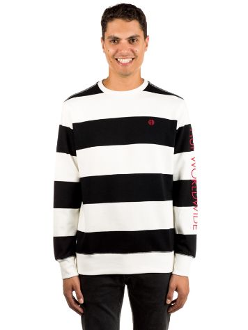 HUF Catalina Stripe Crew Fleece Jersey