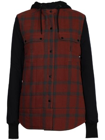 Armada Ruston Flannel Hooded Shirt LS