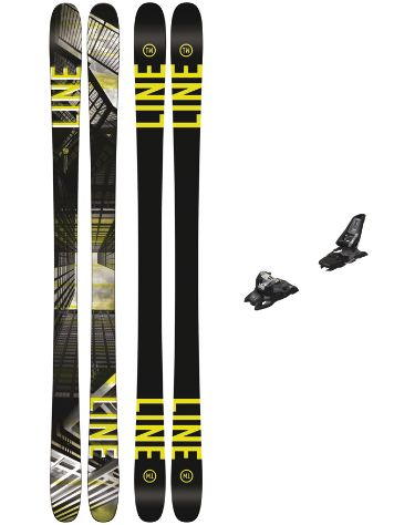 Line Tom Wallisch Pro 157 + Squire 11 90mm black 2018 Freeski-Set