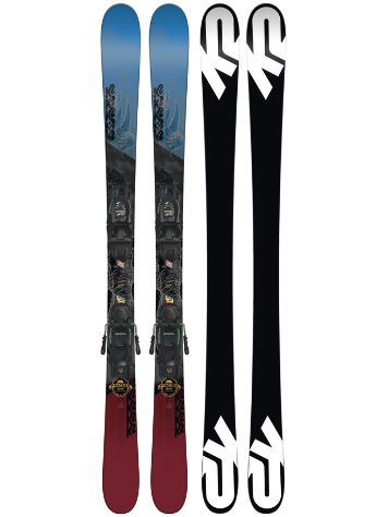 K2 Poacher Jr. 139 + Fdt 7 85mm 2018 Boys Freeski set
