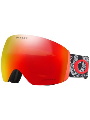 Oakley Flight Deck Seth Morrison Signature Craneos Muertos Red Goggle