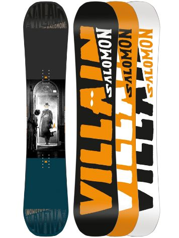 Salomon The Villain 155W 2018 Snowboard