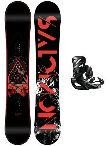 Salomon Sight 166W + Rhythm Black L 2018 Conjunto snowboard