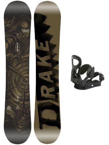 Drake League 156 + King XL Blk 2018 Snowboard set