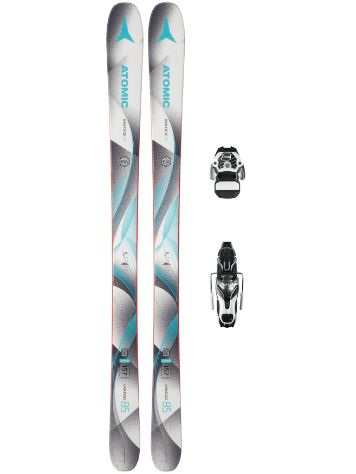 Atomic Vantage 85 W 165 + Warden11 90mm 2018 Conjunto freeski