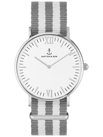 Kapten&Son Campina Grey White White 36mm