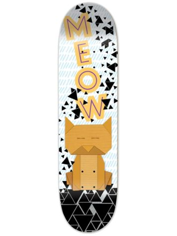 "Meow Skateboards Origami Cat 8"" Skateboard Deck"