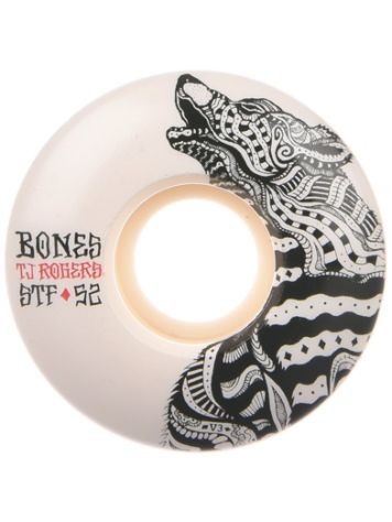 Bones Wheels Stf Rogers Wolf 83B V3 52mm Wheels