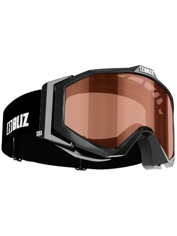 BLIZ PROTECTIVE SPORTS GEAR Edge Jr. Black Youth Máscara niños