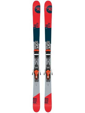 Rossignol Sprayer 168 + Xpress 10 B83 Blk/Red 2018 Set de freeski